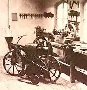 Oficina de Gottlieb Daimler